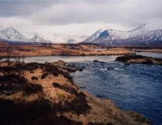 Rannoch Moor, scotland , luskentyrebeach