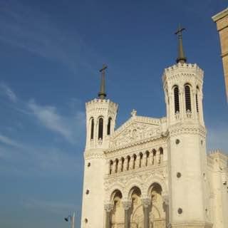 Basilica of Notre-Dame de Fourvière, france , lyon