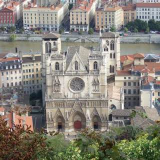Cathédrale Saint Jean-Baptiste, france , lyon