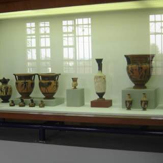 Archaeological Museum of Dion, greece , macedoniasouth