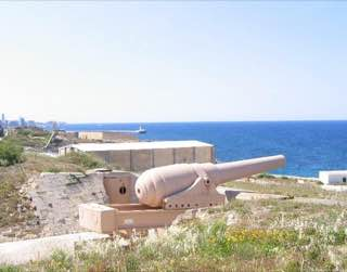 Fort Rinella, malta , mdina