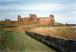 Tantallon Castle, scotland , melroseabbey