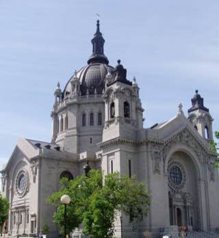 Cathedral of Saint Paul, usa , minneapolis