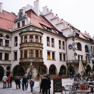 Hofbräuhaus am Platzl, germany , munich