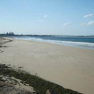 Stockton Beach, New South Wales, uk , newcastle