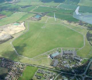 Bicester Airfield, uk , oxford