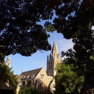 Christ Church Cathedral, Oxford, uk , oxford