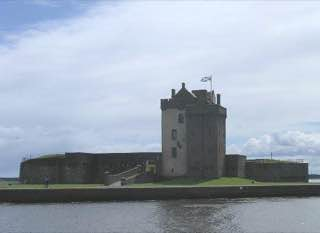 Broughty Castle, scotland , perth