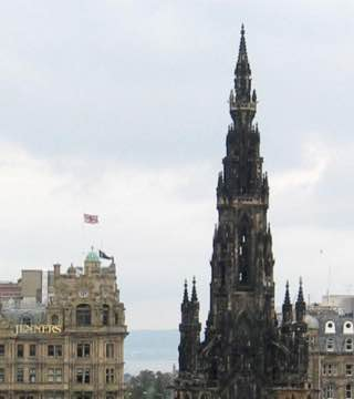 Scott Monument, scotland , perth