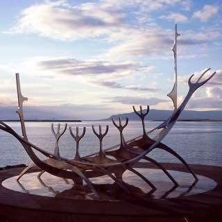 The Sun Voyager, iceland , pingvellirnationalpark