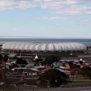 Nelson Mandela Bay Stadium, southafrica , portelizabeth