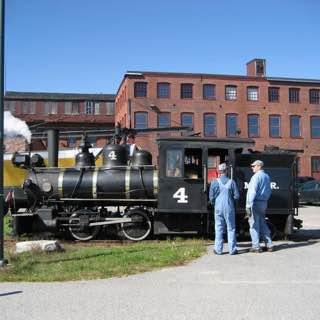 Maine Narrow Gauge Railroad Museum, usa , portland