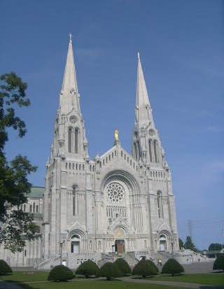 Basilica of Sainte-Anne-de-Beaupré, canada , quebeccity