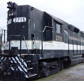 Historic Railroad Shops, usa , savannah