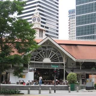 Telok Ayer Market, singapore , srimariammantemple