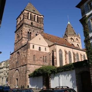 St. Thomas, Strasbourg, france , strasbourg