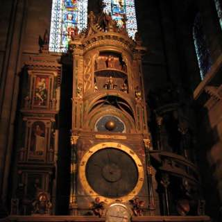 Strasbourg astronomical clock, france , strasbourg