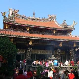 Mengjia Longshan Temple, taiwan , taipei