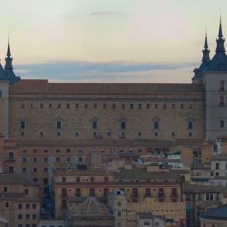 Alcázar of Toledo, spain , toledo