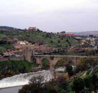 Puente de San Martín, spain , toledo