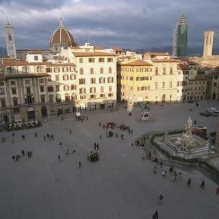 Piazza della Signoria, italy , tuscany