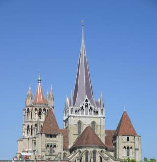 Lausanne Cathedral, switzerland , vaud