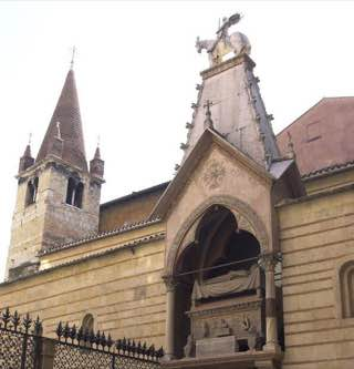 Santa Maria Antica, italy , verona