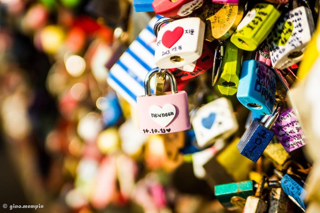 Εικόνα από N Seoul Tower. love wall korea romance seoul romantic cheesy padlocks tamron2875 tamron2875mmf28 lovepadlocks