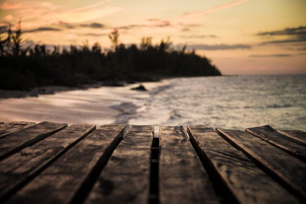 Immagine di Cayo Levisa Spiaggia con una lunghezza di 3665 metri. ocean sunset beach cuba plage pontoon bois ponton coucherdesoleil planches océan d600 cayolevisa nikond600