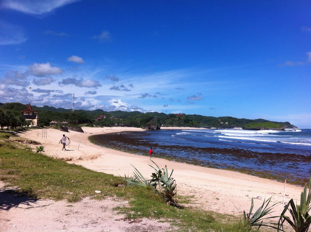 Εικόνα από Krakal Beach. beach yogyakarta pantaikrakal uploaded:by=flickrmobile flickriosapp:filter=nofilter