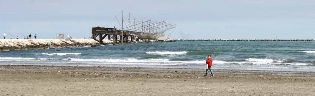 Obrázek Spiaggia libera. mare spiaggia sottomarinadichioggia