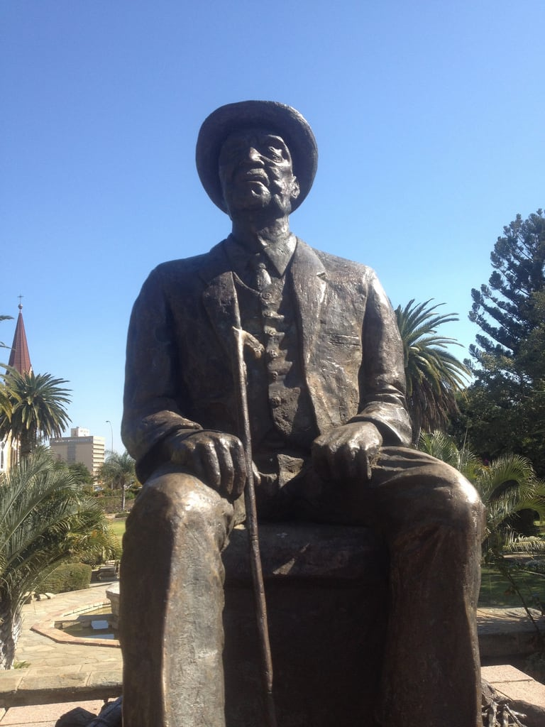Attēls no Hendrik Witbooi. namibia windhoek africaiscalling