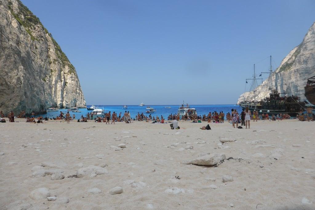 Bild von Navagio (Ναυάγιο) Navagio Strand in der Nähe von Anafonítria.