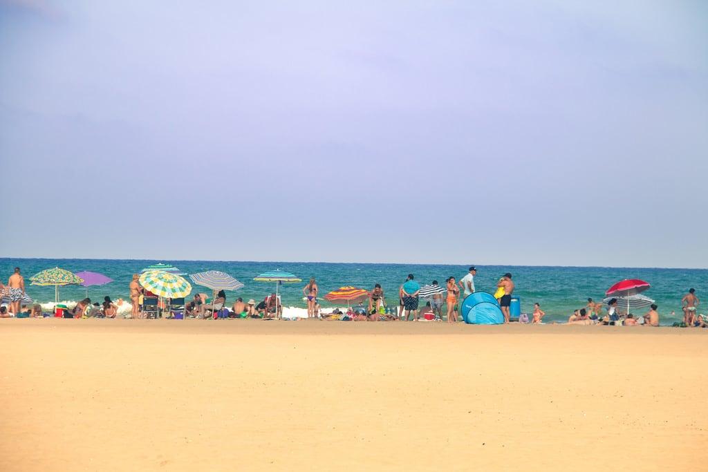 Attēls no Platja del Cabanyal - Les Arenes pie Valencia. españa beach valencia spain sand europa europe mediterranean mediterraneo playa arena es comunidadvalenciana