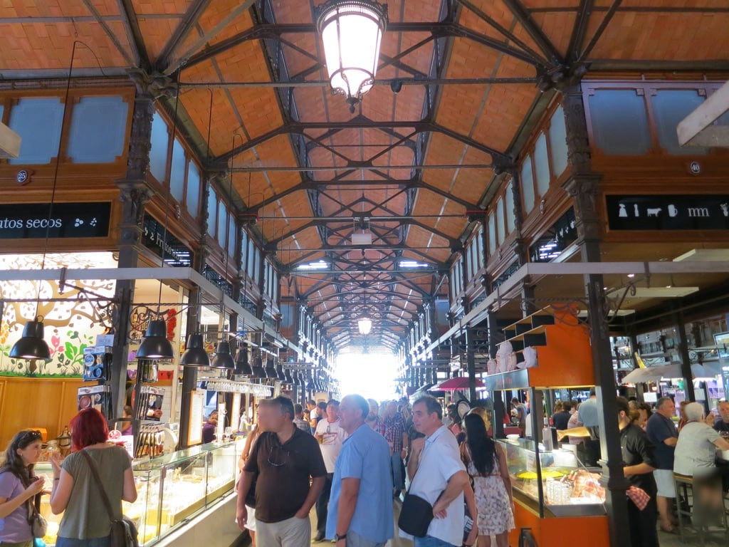 Εικόνα από Mercado de San Miguel. madrid food market tapas