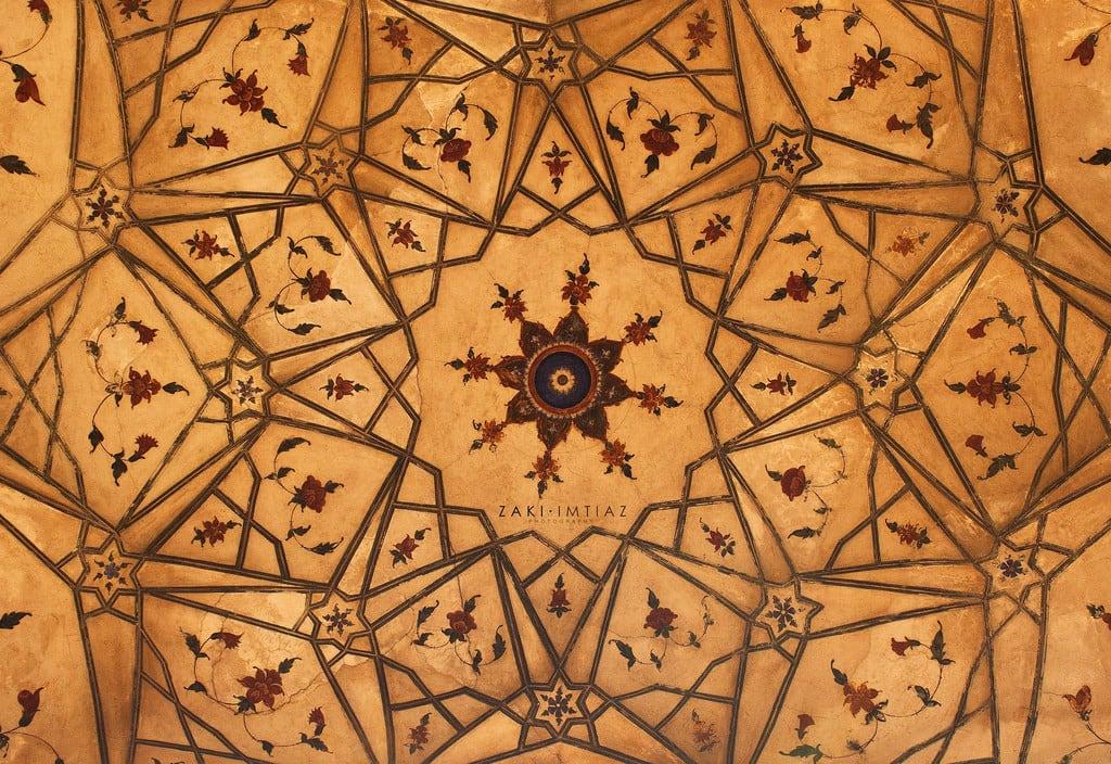 Attēls no Badshahi Mosque. city pakistan architecture painting photography dome lahore facebook badshahimosque lahorefort royalmosque zakiimtiaz