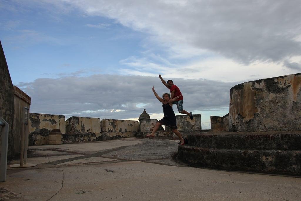 Image of Castillo San Cristóbal near San Juan. travel vacation puertorico sanjuan