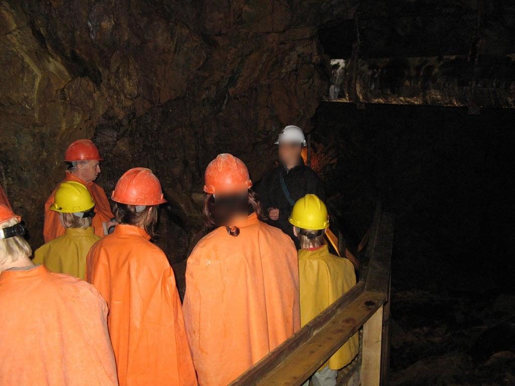 Image of Falun Mine. museum mine sweden schweden worldheritagesite dalarna falun