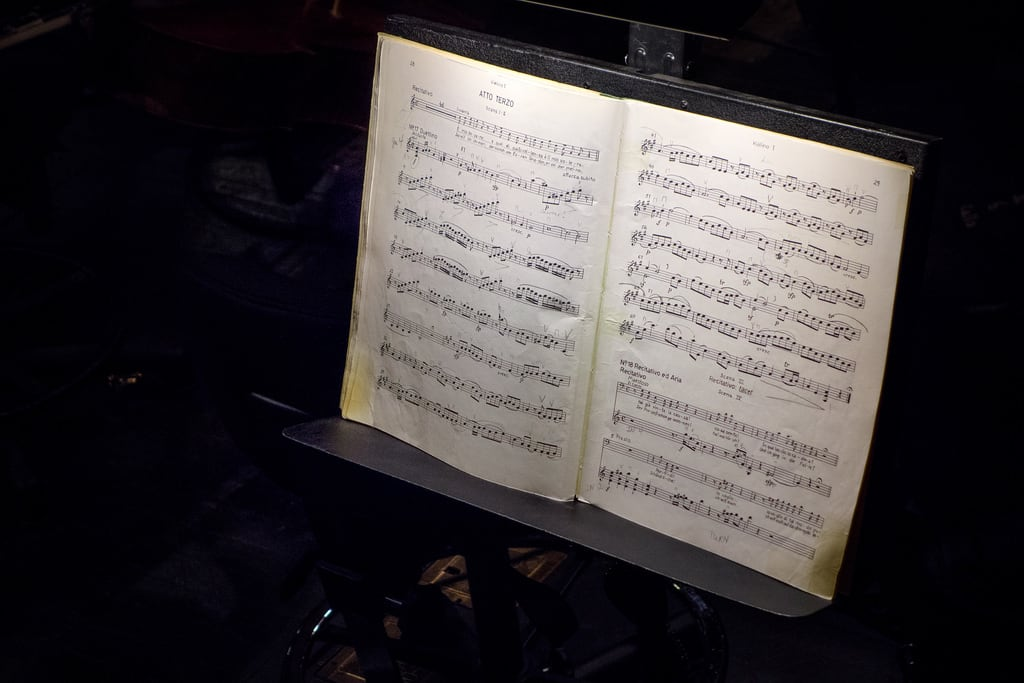 Attēls no Lincoln Center for the Performing Arts. nyc newyorkcity vacation newyork art opera performingarts sheetmusic lincolncenter metropolitanopera themarriageoffigaro lenozzedifigaro violinoi dscrx100 sonyrx100 firstviolinpart