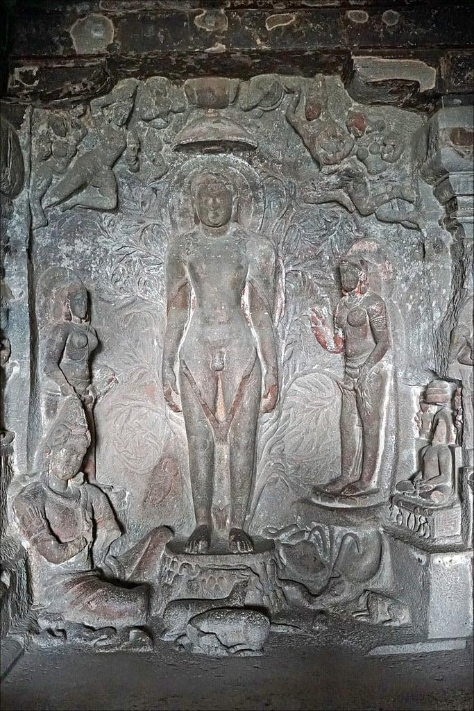 Billede af Ellora caves. india grotte inde ellora jainism dalbera jainisme religionjaïn religionjaïne