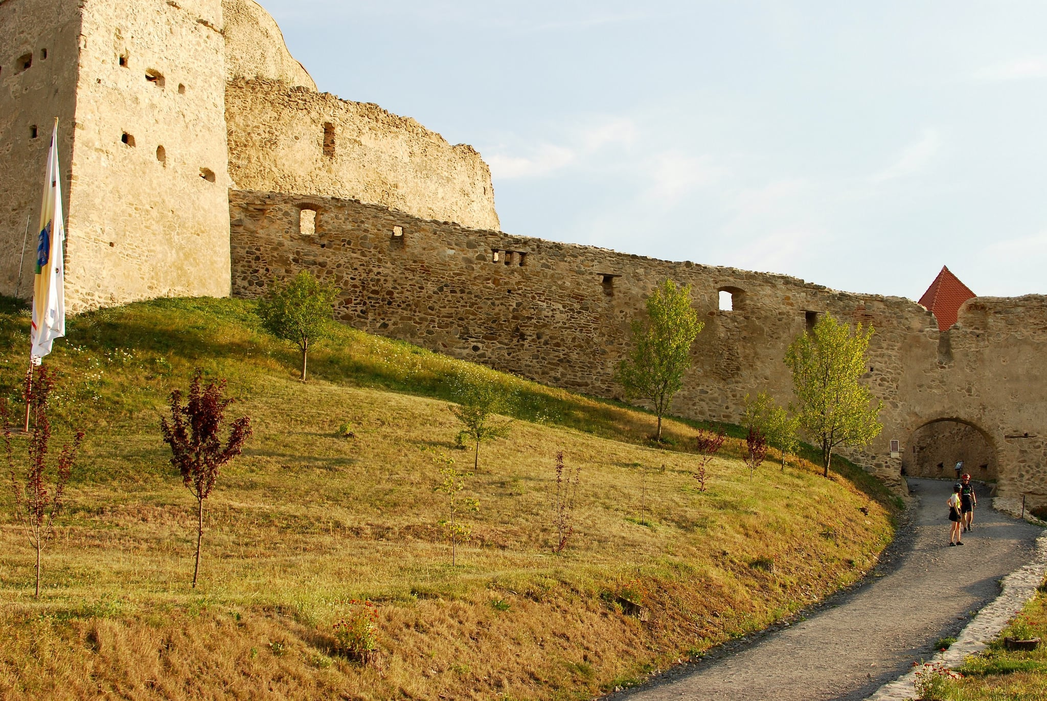 Image of Rupea Fortress. nikon august 2015 rupea d80