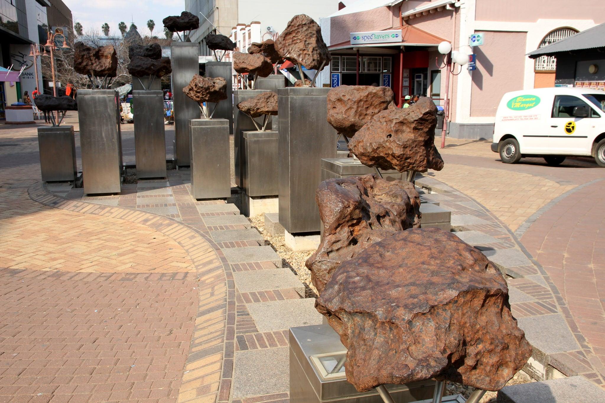 Attēls no Meteorites. namibia windhoek