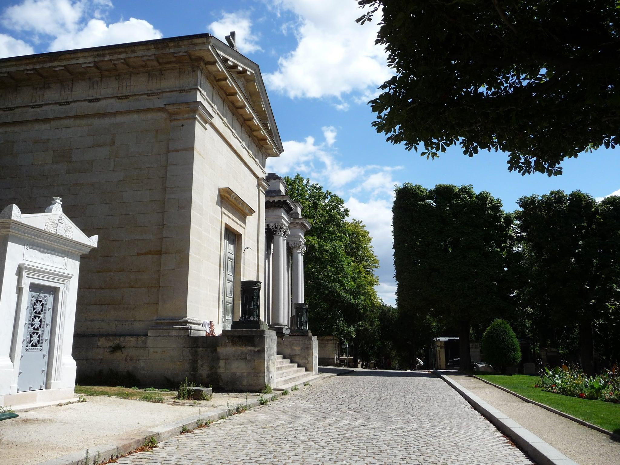 Cimetière du Père-Lachaise 的形象. cimetièredupèrelachaise