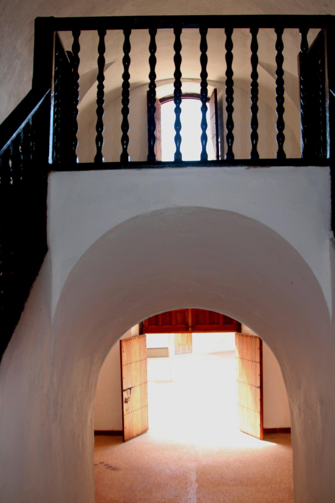 Image of Castillo San Cristóbal near San Juan. old castle puerto town san downtown juan fort district indoor landmark historic rico pr caribbean cristobal castillo sju benteng konomark