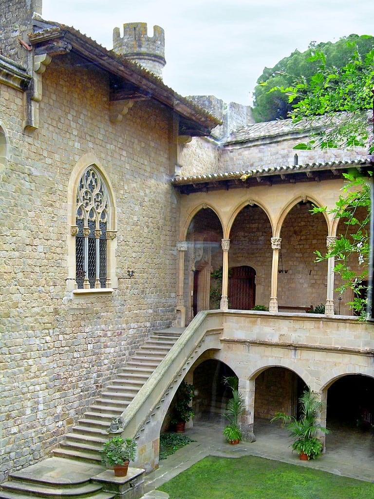 תמונה של Castell de Santa Florentina. maresme v modernisme castell catalunya domenechimontaner