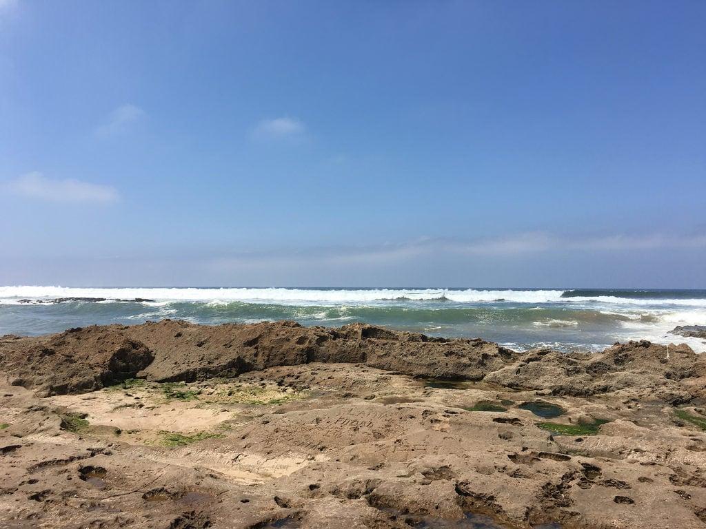 Imagine de Plaja cu o lungime de 411 m.