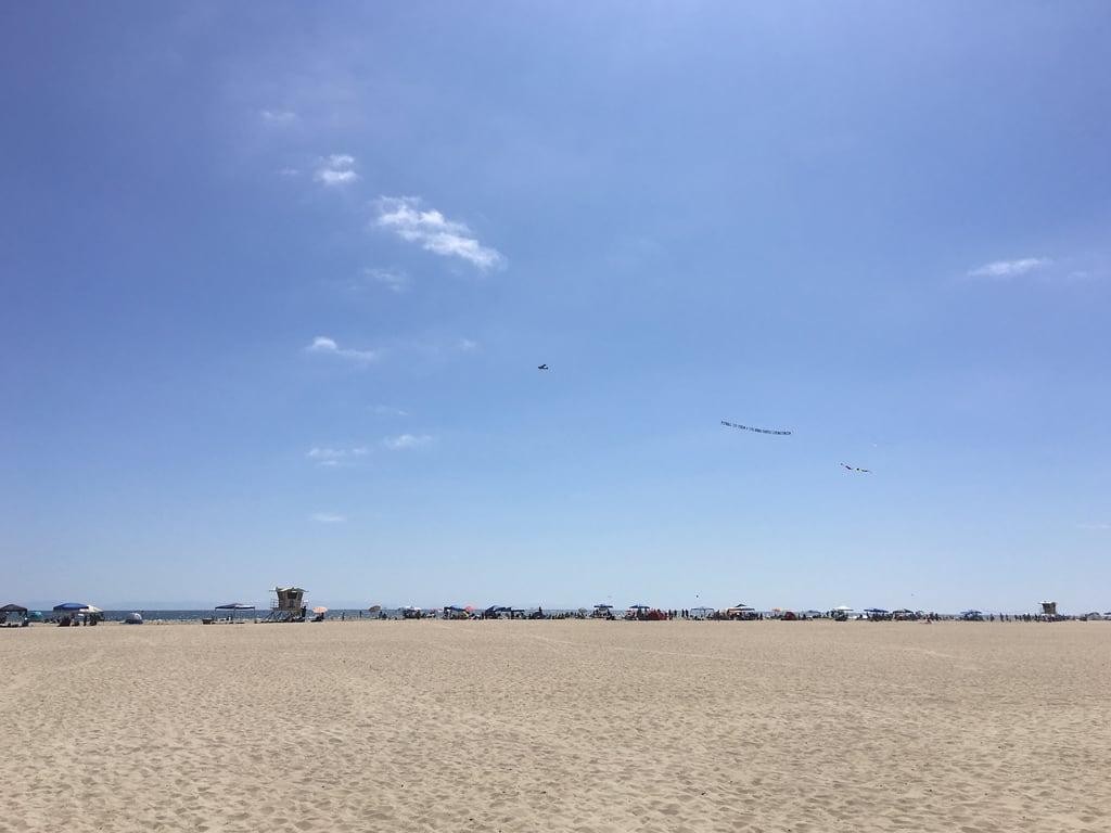 Bilde av Huntington State Beach.