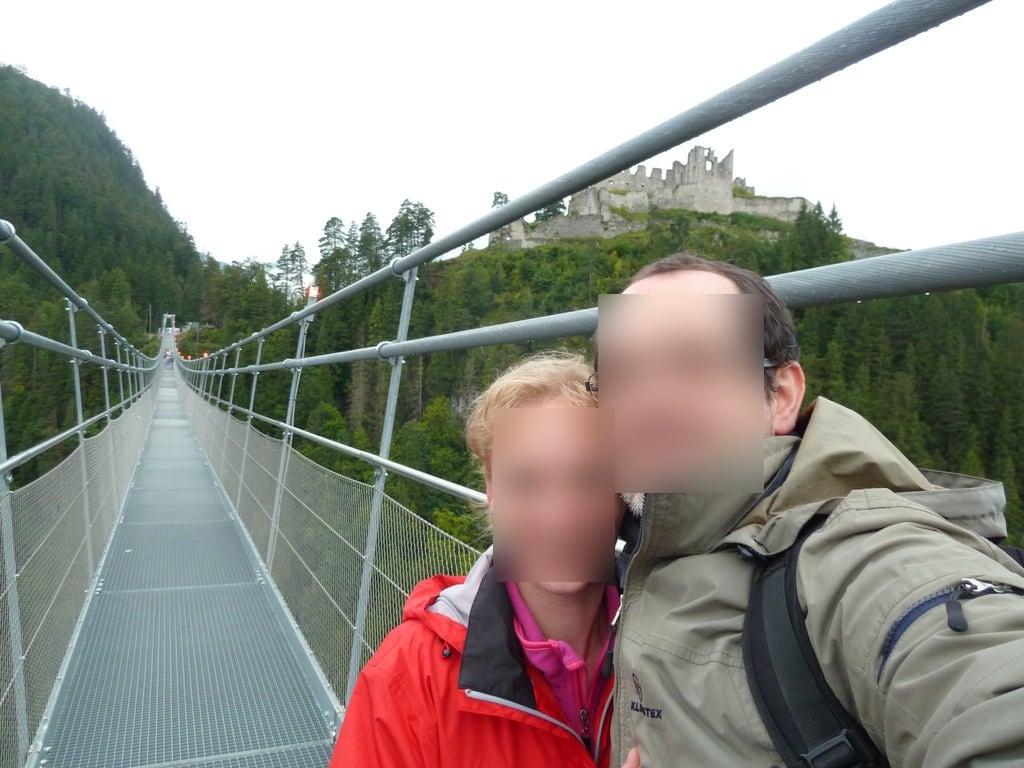 Obraz highline179. ehrenberg reutte tirol highline179 meli