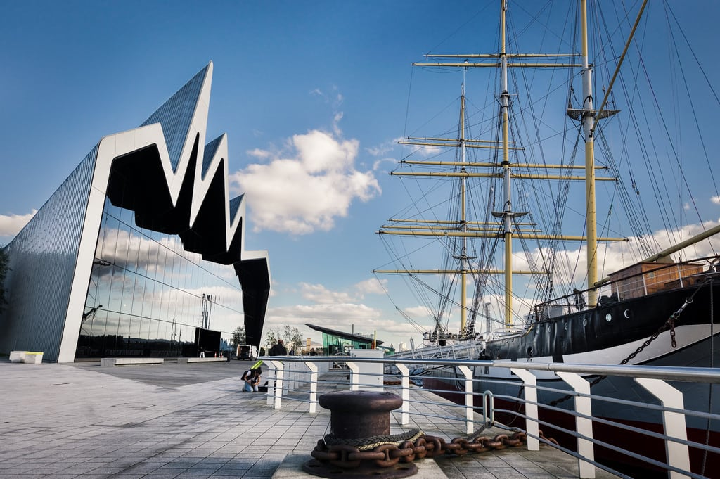 Изображение Lord Kelvin. glasgow transport museum clyde riverside zahahadid ship glenlee river kelvin