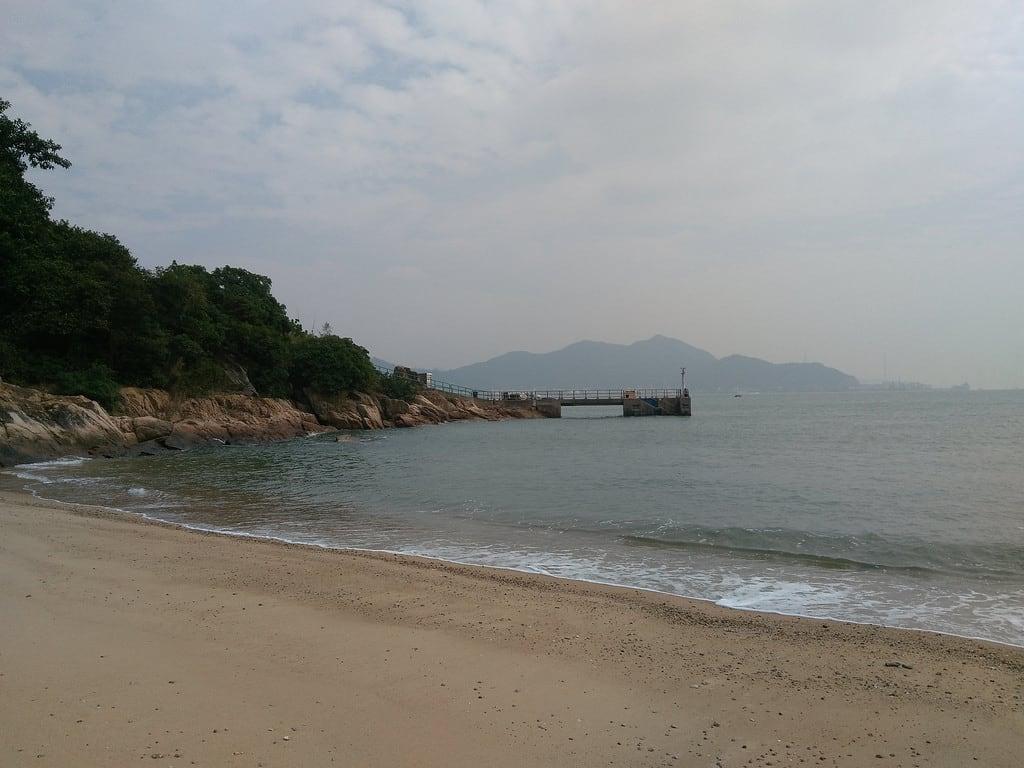 Bilde av Stranden med en lengde på 96 meter. tsowan